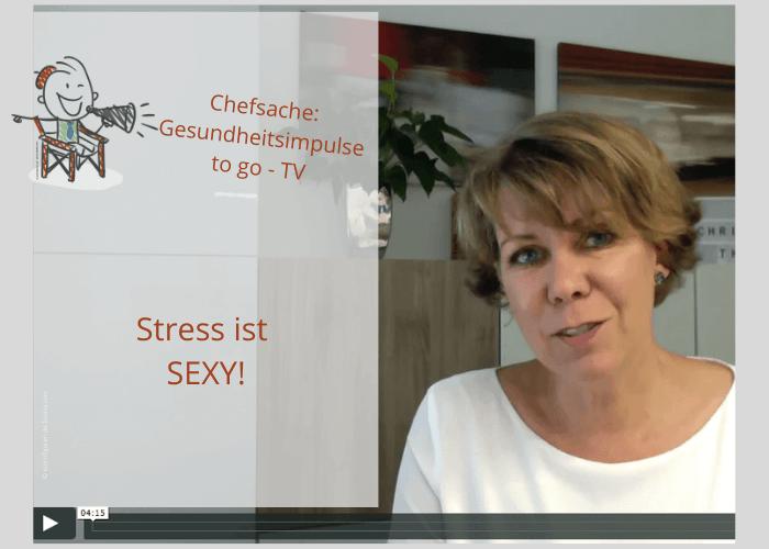 Christina Thiel Stress ist sexy
